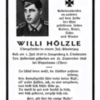 "<strong>15.09.1943 - Willi Hölzle stirbt in Russland den ""Heldentod""</strong>"